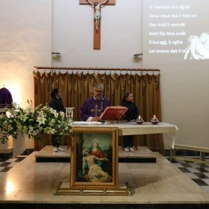Commemorating Our Lady of Sorrows