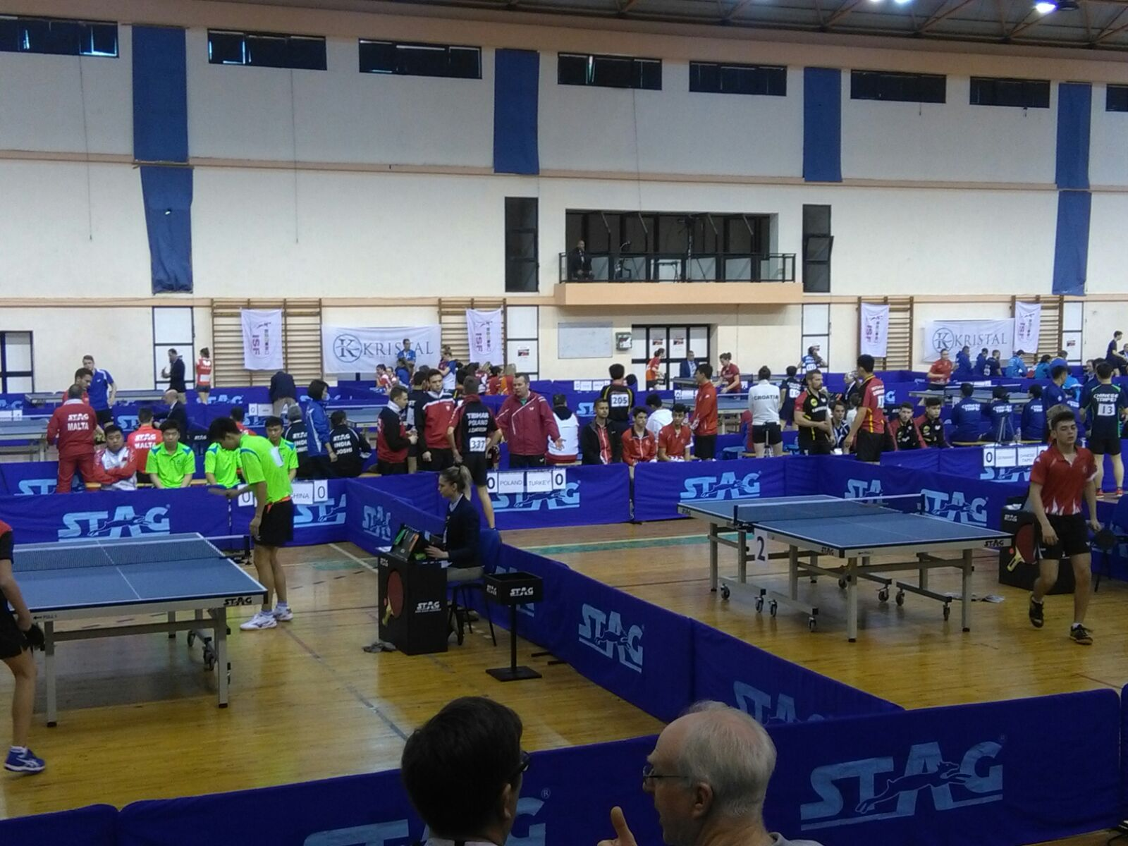 Sports Journalism & The ISF World Schools Table Tennis