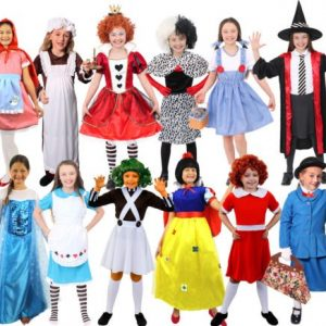 Dress Up as a Book Character Day
