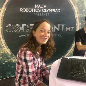 "Amy Calleja makes it to Microsoft's ""Girls A.I. Bootcamp"" in Greece"