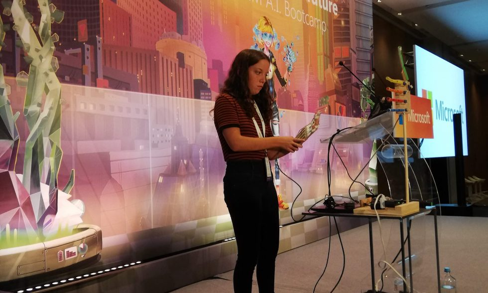 Amy Calleja – Malta's only 'Alice' at Microsoft AI Bootcamp in Athens!