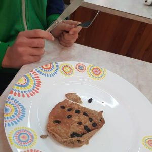Healthy Snacks – Oat and Banana Pancakes