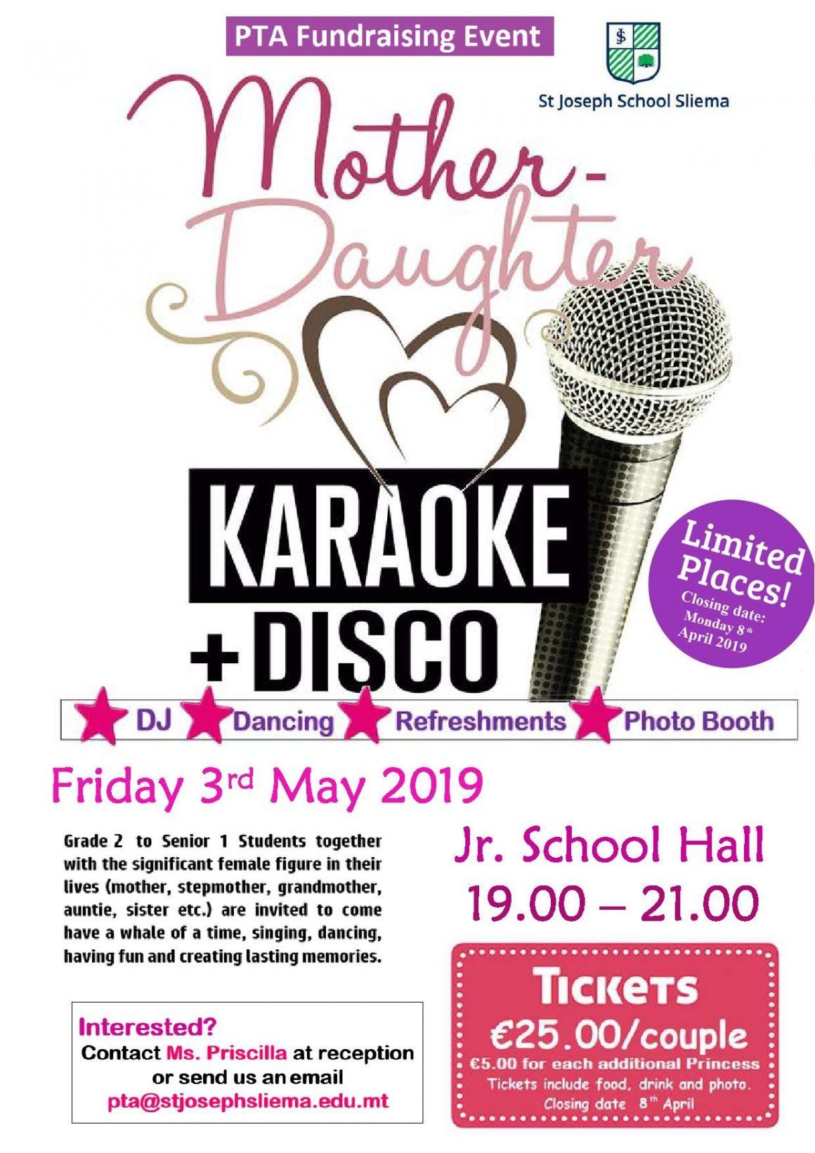 Mummy & Daughter Karaoke Disco Night