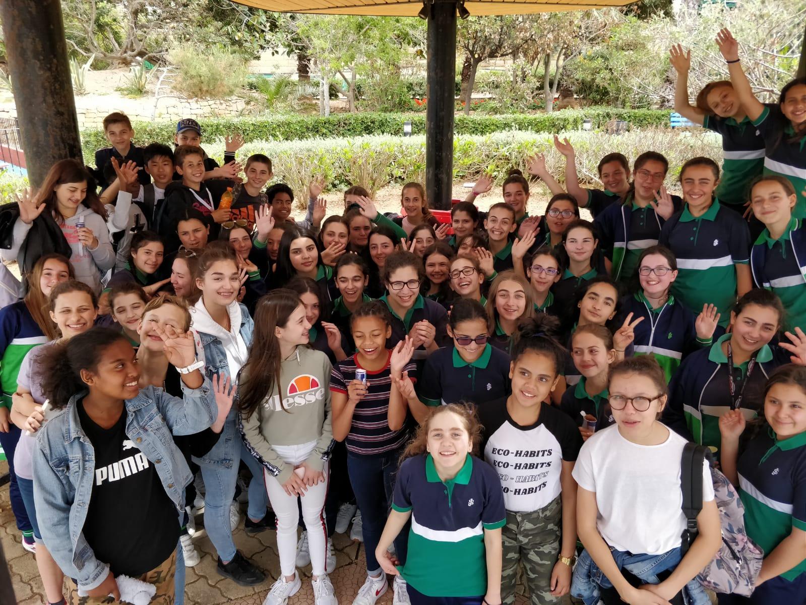 French Pen-Pals' Visit - St Joseph School Sliema - Senior School