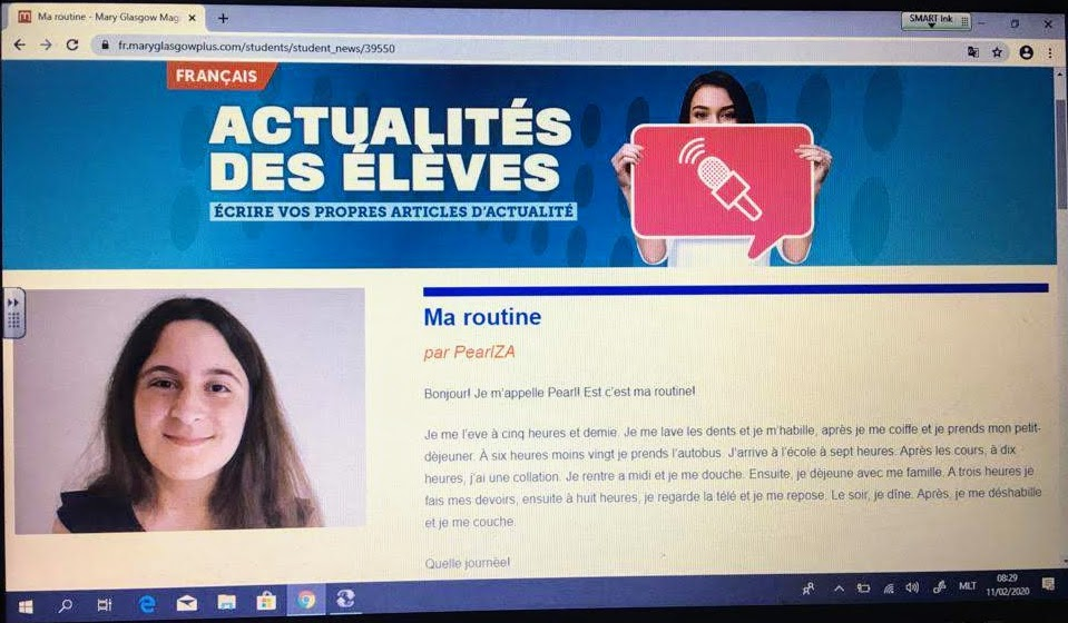 French On-Line Articles